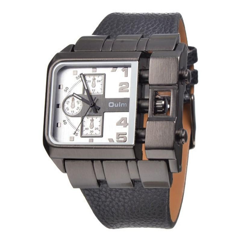 a46a528d00c 1 pçs lote Mens Relógios Militares OULM 3364 Marca Designer Erkek ...