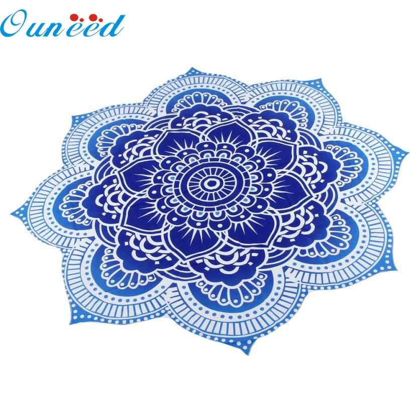 JA 31 Mosunx Business Hot Selling Fast Shipping Round Beach Pool Home Shower Towel Blanket Table Cloth Yoga Mat
