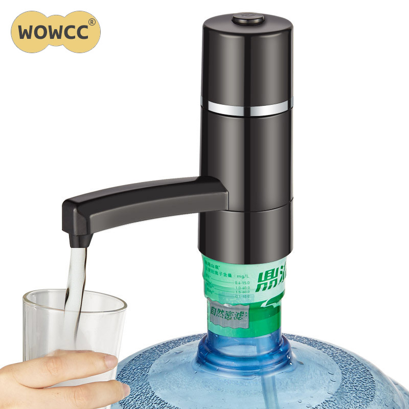 Water Bottle Dispenser Water Wireless Rechargeable Electric Water Pump Portable Drinking Bottles Drinkware Tools For Sports/Camp Бутылка