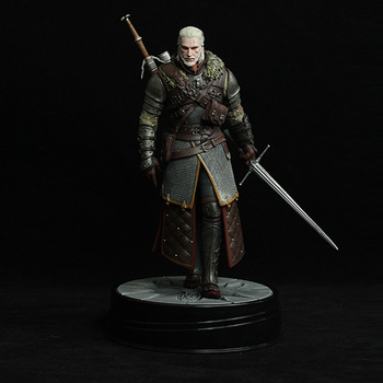 New Arrival Dark Horse Deluxe The Witcher 3: Wild Hunt: Geralt Grandmaster Ursine Figure the witcher figure