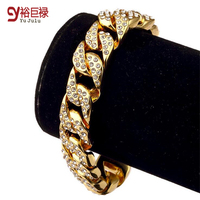 2016 Iced Out Men S Hip Hop Bling All Star High Quality Drilling Chain Cuba 18