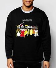 Funny Science sweatshirt Chemistry Noble Gases 2017 new spring winter fashion hoodies men fleece high quality cartoon tracksuit