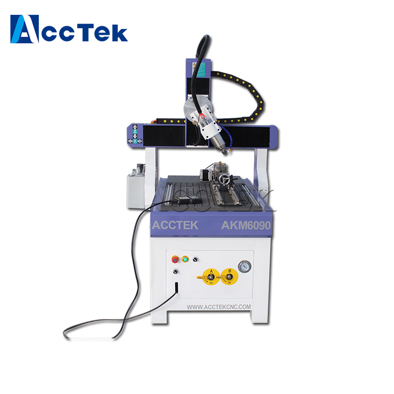 China Wholesale Mini Carving Machine Wood Milling Cnc Router 4 Axis Spindle Motor 6090 Cnc Router
