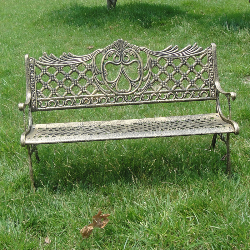 Park Chairs Cast Iron Garden Benches Outdoor Lounge Chair