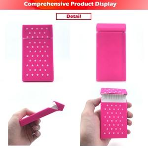 [InFour +] Новый силиконовый чехол для сигарет KeepCalm 10,5*5,8*1,4 см, Модный Эластичный резиновый женский чехол для сигарет