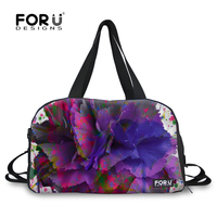FORUDESIGNS Large Capacity Designer Women Luggage Travel Bags Female Travel Duffle Tote Women Multifuntion Weekend Bag for Trip