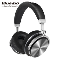 Bluedio T4S Active Noise Reduction Wireless Bluetooth Headphones HIFI Stereo Music Wireless Headset With HD Microphone