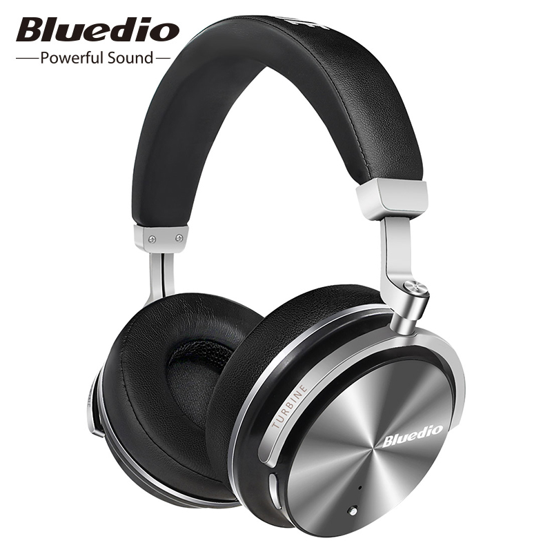 Bluedio T4S réduction Active du bruit sans fil Bluetooth casque HIFI stéréo musique casque sans fil avec Microphone HD