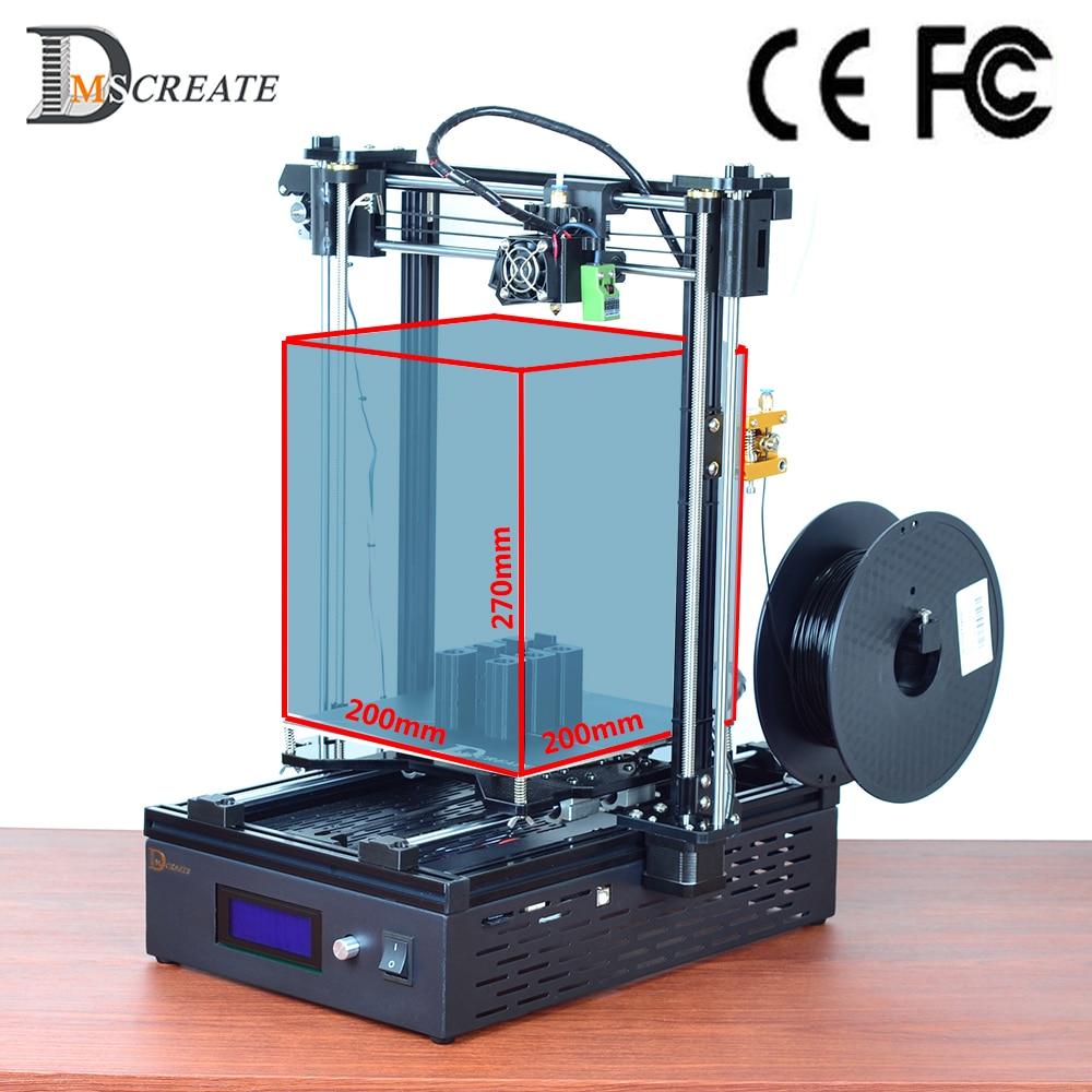 Dmscreate DMS DP5 200*200*270 мм большие размеры высокое качество 3D-принтеры комплект, 10 мин. установке, высокая производительность соотношение цена, Корабль из Великобритании