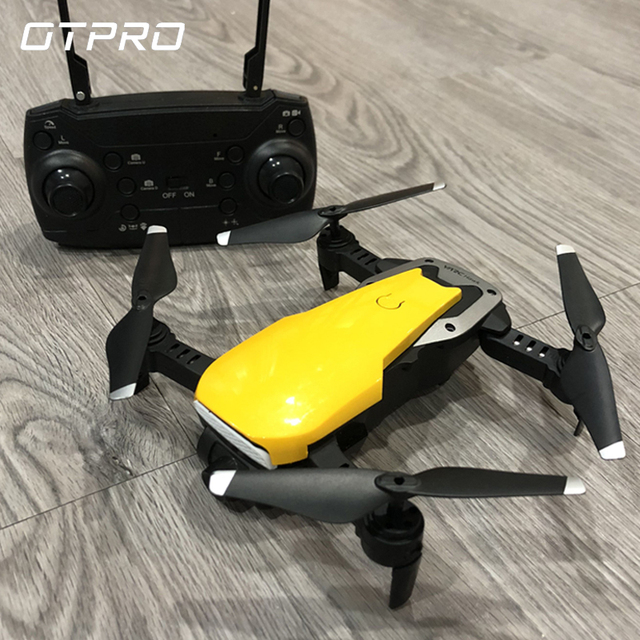 x4 Drone With HD 720P Wifi Camera Quadrocopter Hovering FPV Quadcopters 2MP Folding RC Helicopter Storage bag toy for boy S20
