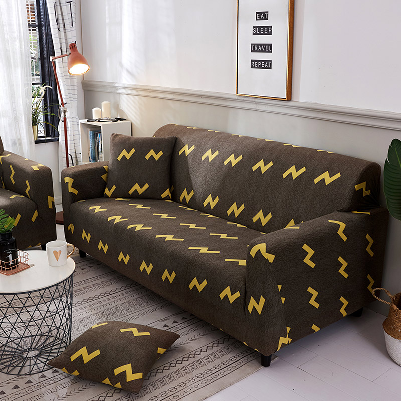 Fine Us 7 01 37 Off Spandex Sofa Cover Tight All Inclusive Sectional Throw Couch Corner Cover Armchairs Cubre Sofa Slipcover Fundas De Sofa Moderno In Theyellowbook Wood Chair Design Ideas Theyellowbookinfo