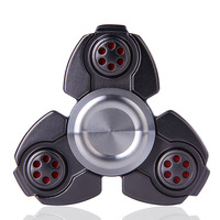 Quality Scrub/Colorful/Metal Fidget Spinner Triangle EDC Finger Hand Spinner For Autism/ADHD Anxiety Stress Relief Focus Toys