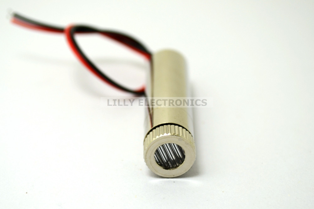 10mw 650nm Focusable Red Laser Line Diode Module 12x40mm 200nm-1100nm with Lens Frame M9 and Metal Cap 650nm 5mw focusable red line laser module laser generator diode