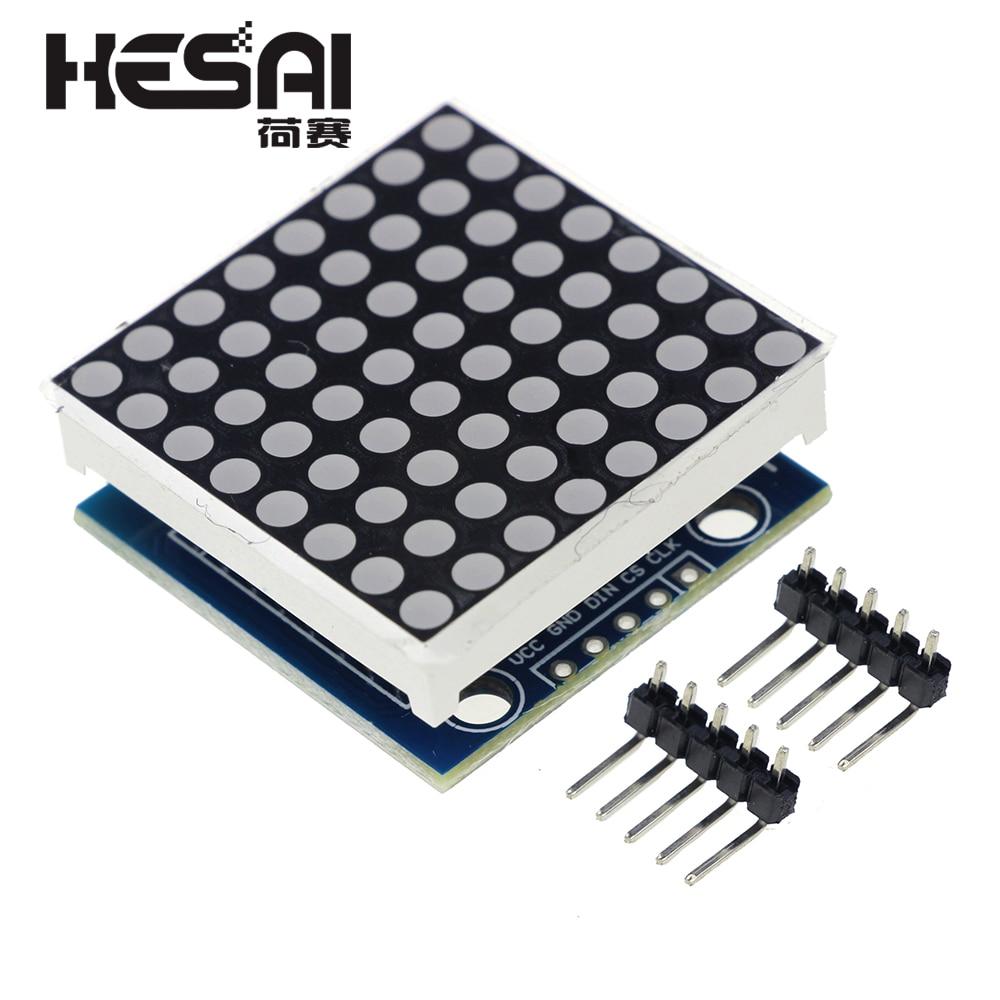 MAX7219 Dot Matrix Modul Mikrocontroller Led-modul Display Modul MAX7219 DIY Kit