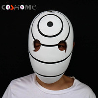 Coshome Anime Naruto Uchiha Obito Mask Cosplay Props Accessories for Halloween Party