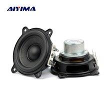 AIYIMA 2,5 дюймов 2 Ом 15 Вт для Beats Pill XL динамик НЧ-динамик полный диапазон Неодимовый портативный автомобильный усилитель динамик Buletooth