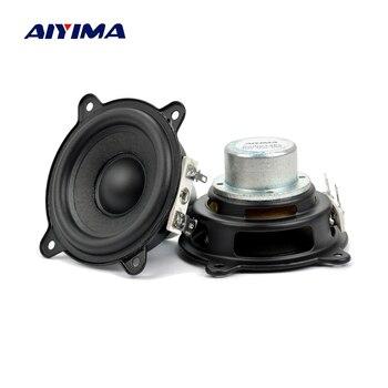 AIYIMA 2.5 cal 2Ohm 15W dla Beats Pill XL głośnik niskotonowy pełny zakres neodymowy przenośny do samochodu głośnik wzmacniacz Buletooth