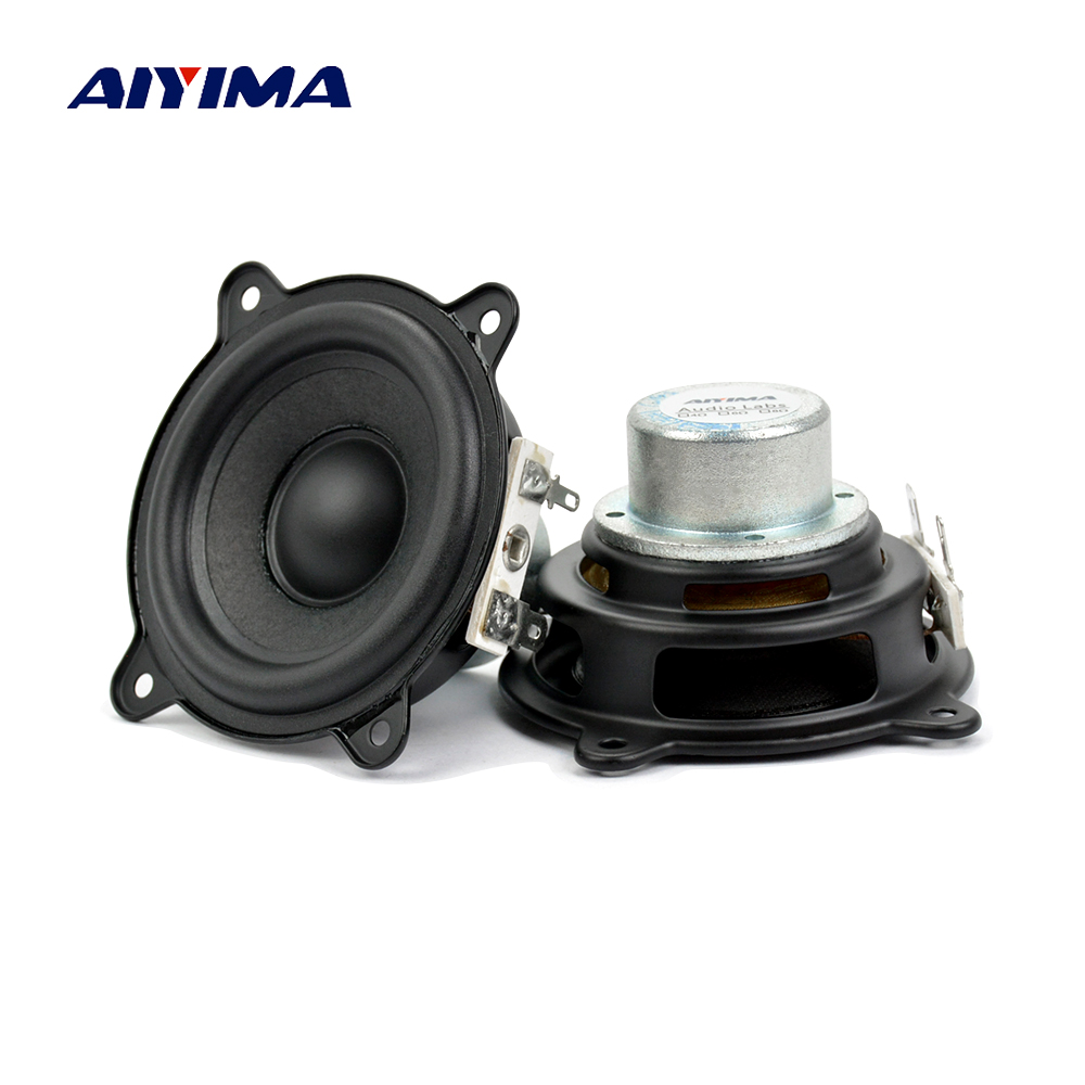 AIYIMA 2.5 inch <font><b>2Ohm</b></font> 15W For Beats Pill XL Speaker Woofer Full Range Neodymium Portable Car Amplifier Speaker Buletooth image