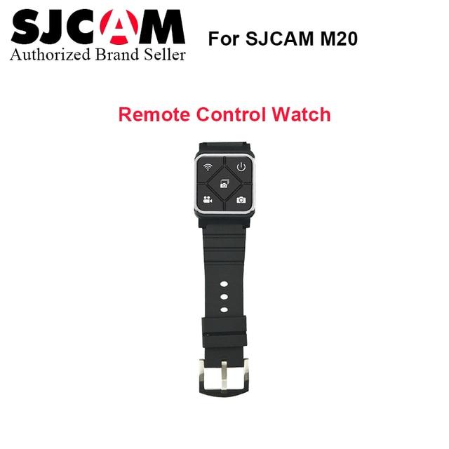 2017 Новый Sjcam Наручные Пульт дистанционного управления Часы для SJCAM SJ6 ЛЕГЕНДА M20 спорт Действий камеры Аксессуары дистанционного часы