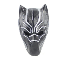 Black Panther Masks Latex Mask Helmet Roles Cosplay Costume Prop Captain America Civil War One Size Fits Most