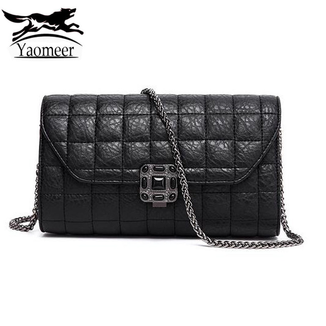 83678bc1dbc8 Luxury Quilted Chain Bags Handbags Women Crossbody Shoulder Bag Female  Famous Brands Designer Black Clutch Women Messenger Bag