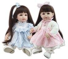 Muñecas reborn de 50 cm con lindos vestidos
