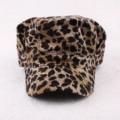 С плоской вершиной шапка женская прилив сексуальная leopard Bei Бубу открытый дышащий шляпа солнца