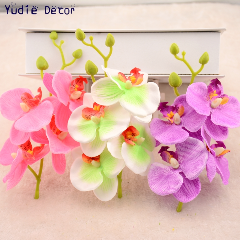 2pcs/lot Valentine Gift Artificial Environmental protection Plastic ...