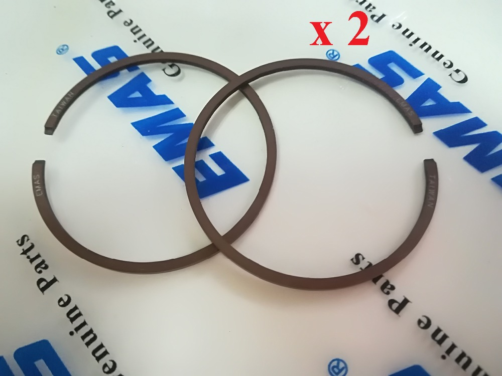 EMAS High Quality 4PCS Piston Rings Kit 42mm*1.2mm For Fit Piston Kit Fit H  353, 345 Chainsaw PISTON RING