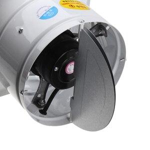 Image 4 - HEIßER! 4 Inch 20W 220V Hohe Geschwindigkeit Auspuff Fan Wc Küche Bad Hängen Wand Fenster Glas Kleine Ventilator Extractor abschliessend