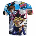 Yu Gi Oh Manster t shirt Hombres Mujeres Anime t camisas Duel Monsters Personajes MUTO YUGI/ATEM/Seto Kaiba 3D t shirt tees