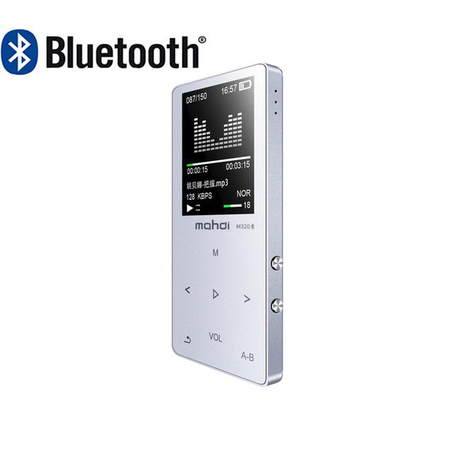 mahdi HIFI Lossless Bluetooth MP3 Player Recorder FM Video E-book 4G/8G/16G Radio Sport Wireless Music Player Support OTG Link