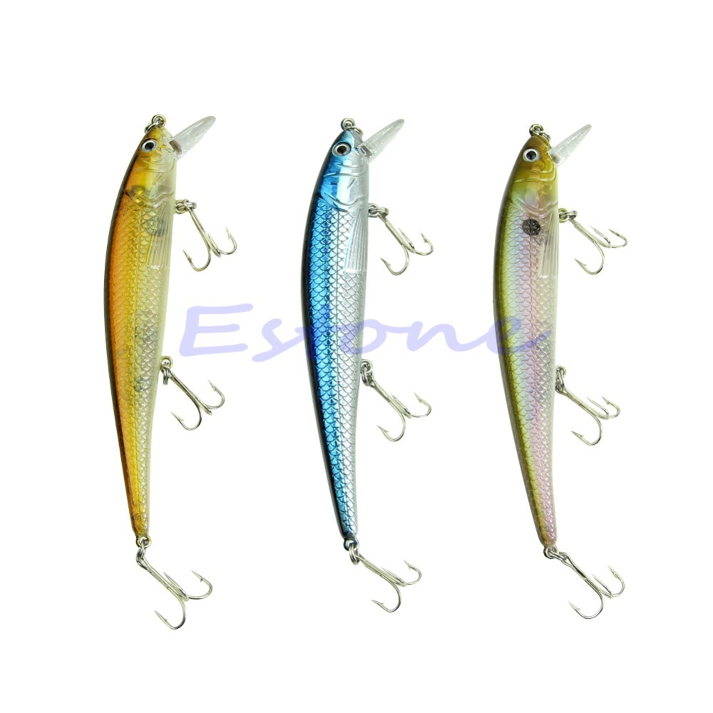 Free Shipping 1pc 20g 15cm Sinking Fishing Lure Crankbait Crank Bait Bass Tackle Treble 3 Hook wldslure 1pc 54g minnow sea fishing crankbait bass hard bait tuna lures wobbler trolling lure treble hook
