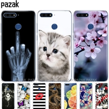 """Silicone phone Case For Huawei Honor 7A pro 5.7""""inch Ca"""