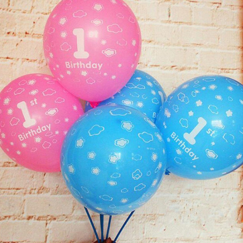 100 X Birthday Balloons