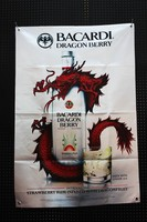 Bacardi Dragon beery banner sign Tequila beer Red Dragon large flag posters 96cm*67cm