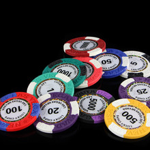 Casino chips 14g Clay