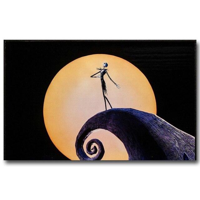 Плакат Гобелен Шелковый Джек повелитель хэллоуина вариант 4