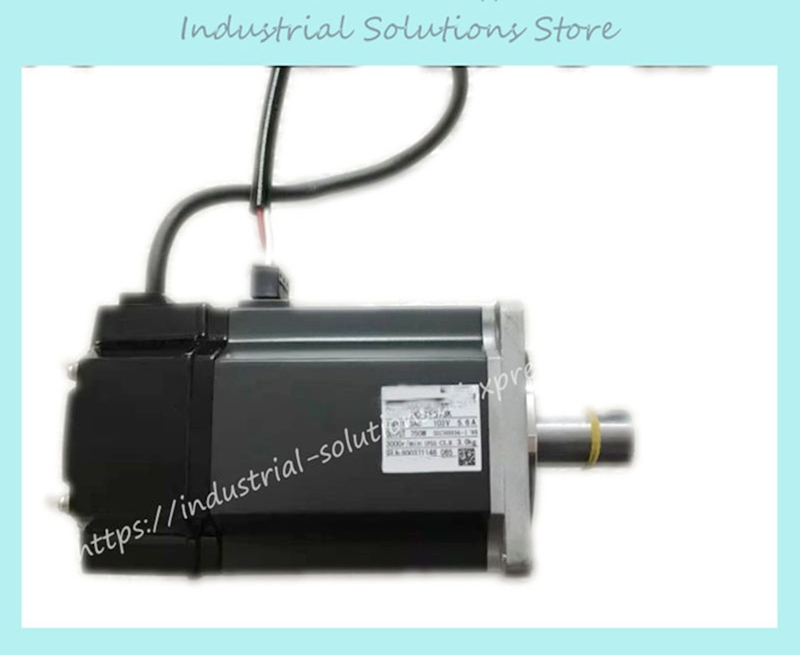 New Original AC Servo Motor HC-KFS73 yaskawa ac servo motor sgm a5a3nt14 second hand looks like new tested working