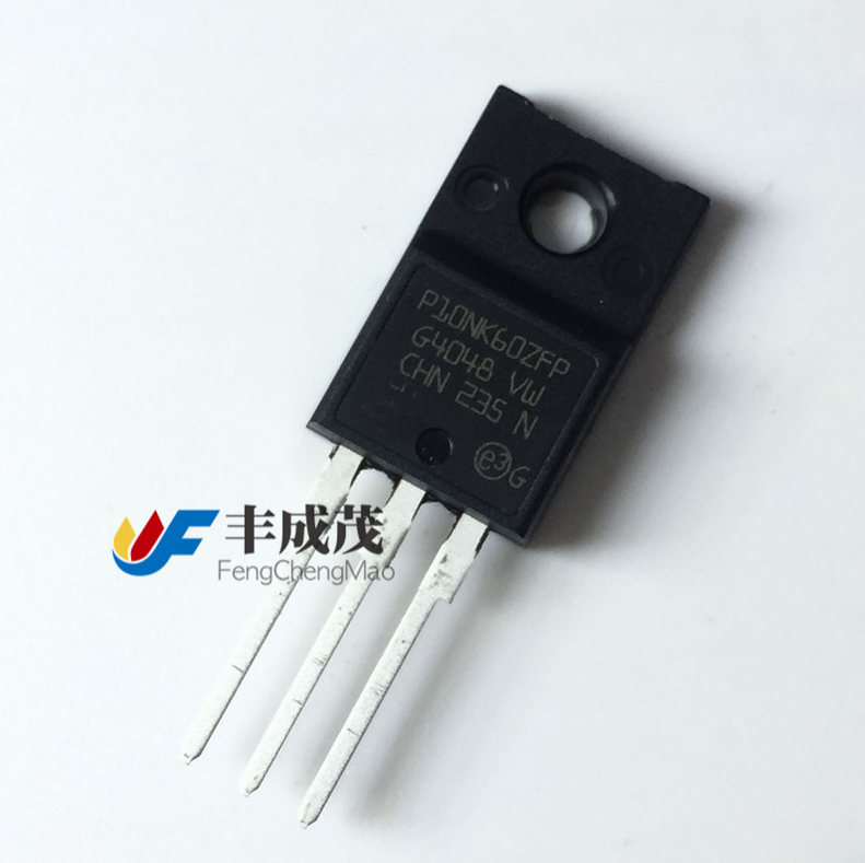 10pcs P10NK60ZFP FQPF10N60C SSS10N60A 10N60  MOS FET 10A/600V N-Channel TO-220F
