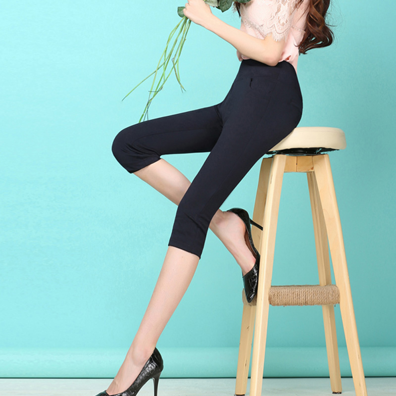 Compare Prices on White Stretch Capris- Online Shopping/Buy Low ...