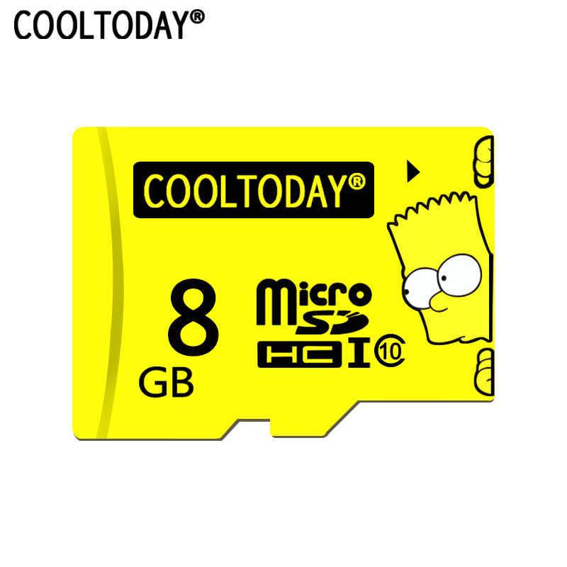 COOLTODAY Высококачественная гарантия sd-карта Micro SD карта Microsd 32 ГБ 16 ГБ 8 ГБ флэш-карта памяти 64 Гб класс 10 TF карта