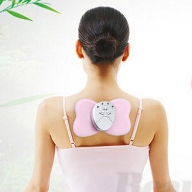 Butterfly Massager Mini Electronic Slimming Body Muscle Relaxation Shake Fat Burn Detox Stick Health Care Health Care Products