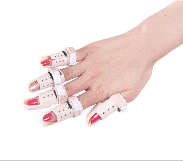 Livraison gratuite 6 pièces/ensemble doigt médical contreplaqué Joint équipement de rééducation orthèse de doigt main orthèses orthopédiques
