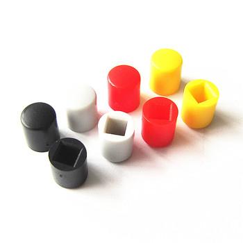 Radość LIANG A20 przycisk przełącznika makroporowate małe mikro przełącznik szary czerwony czarny żółty 4 kolory (10 sztuk partia) tanie i dobre opinie Plastic