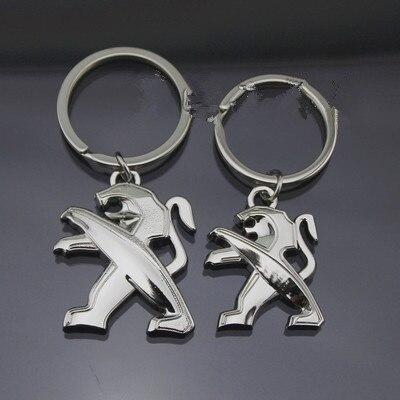 Commercio all'ingrosso Peugeot metallo anello chiave dell'automobile del regalo