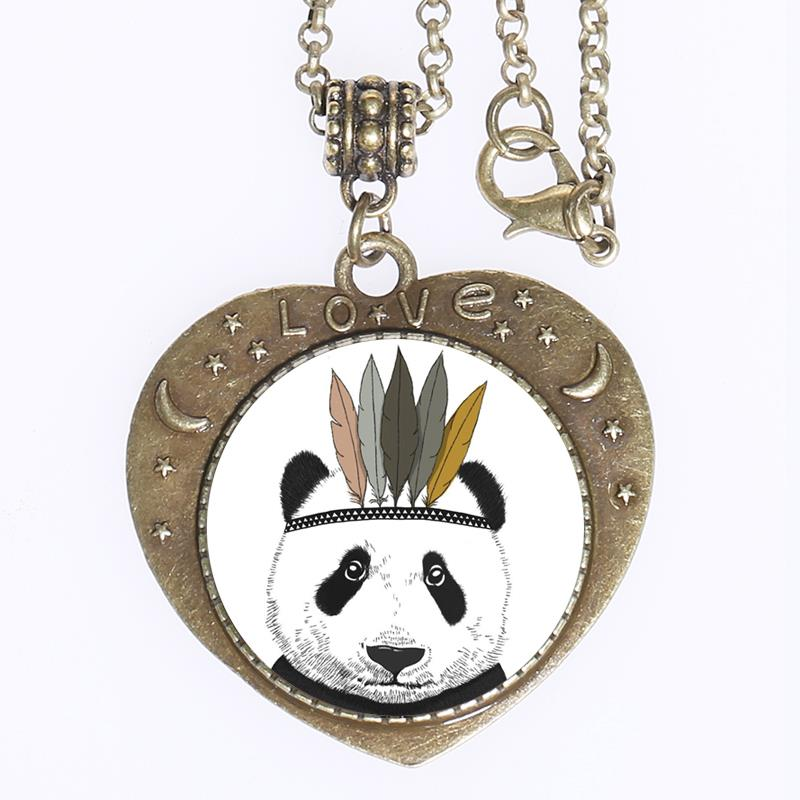 Panda collier promotion achetez des panda collier for Jewelry stores in bear delaware