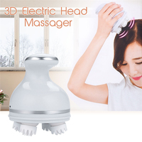 USB Multi Functional High Frequency Full Body Massager Instrument Relaxation 3D Electric Head Massager Roller Vibrator Back Neck