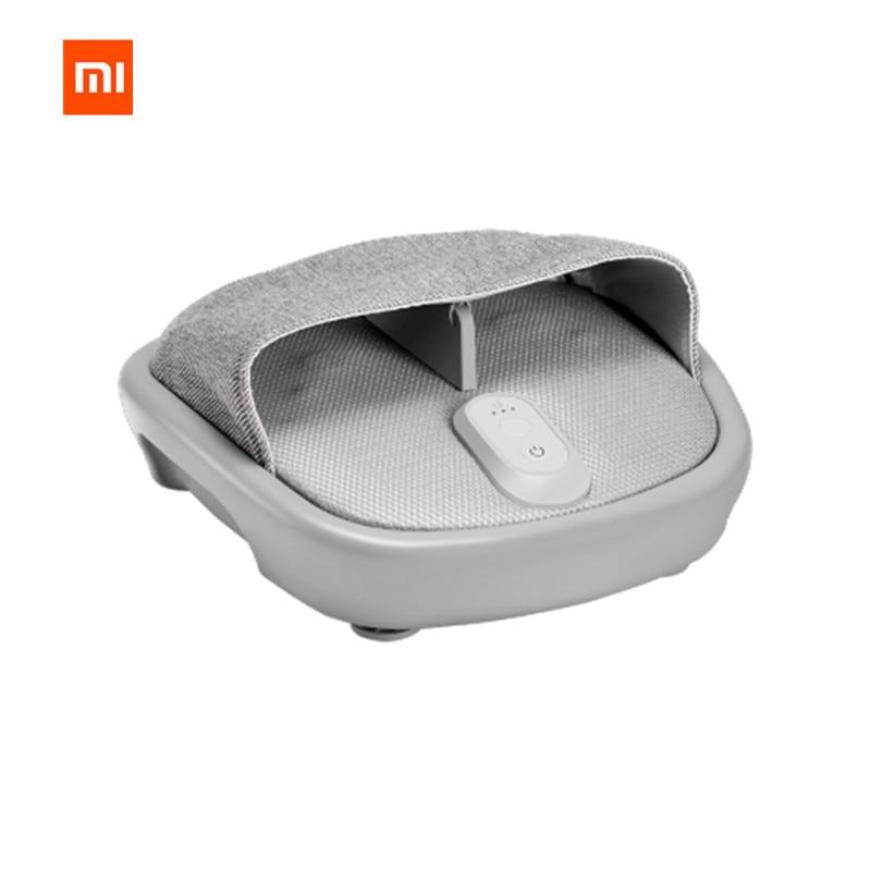 Xiaomi Mijia LF рефлексотерапия разминание Вибрационный роликовый массажер для ног шиацу 3D здоровья Массаж Электрический автомат нагрева