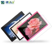 Планшет iRULU eXpro X1 7″ ,  Android 4.4 1024*600 Quad Core 16GB ROM Dual Cam Support WIFI , 5 цветов, с защитной пленкой
